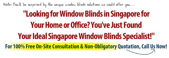 Blinds Singapore Headline
