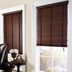 Retro Wooden Blinds